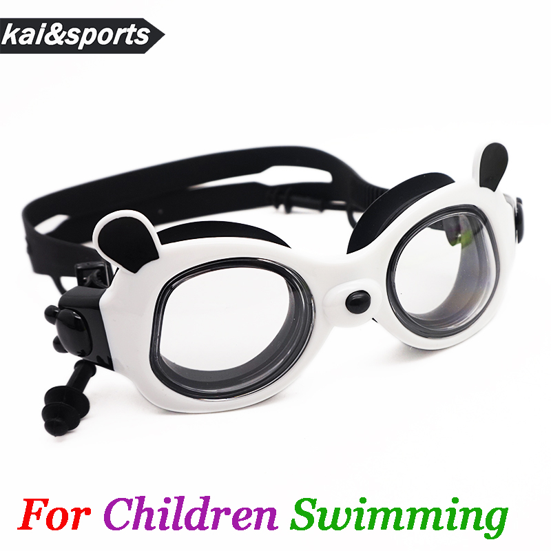 New Children Swimming Glasses HD lovely Panda Goggles for kid child waterproof boy girl eyewear swimming pool