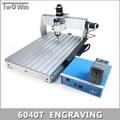 800 W Controle MACH3 Diy 6040 T Mini Máquina CNC, Área de trabalho 575x375x68mm, 3 Eixos Fresadora Pcb, Router de madeira.