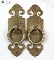 100mm  Chinese antique copper door  Cupboard door handle  Chinese arch  DG 052|Cabinet Pulls|Home Improvement -