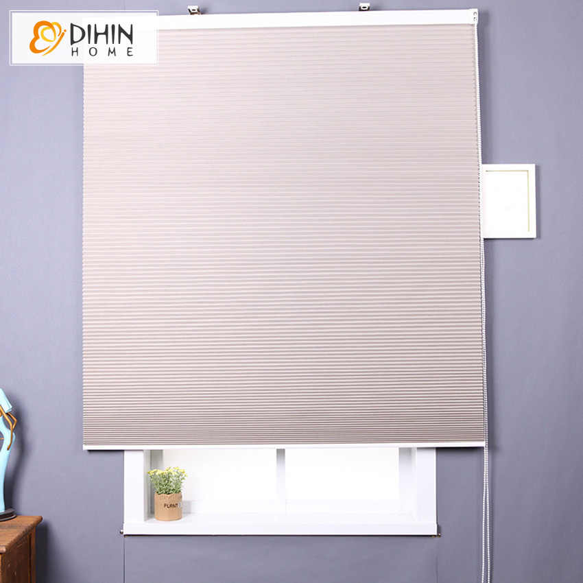 Modern Noise Reduction Waterproof Blackout Cellular Honeycomb Blinds Shades Roller Blind Curtain For Living Room Window Curtains
