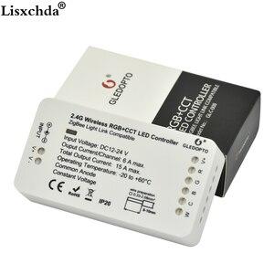 Image 5 - GLEDOPTO ZIGBEE ponte app Ha Condotto Il Regolatore RGBW dimmer Regolatore della striscia DC12/24 V comptible con LED echo zll standard LED