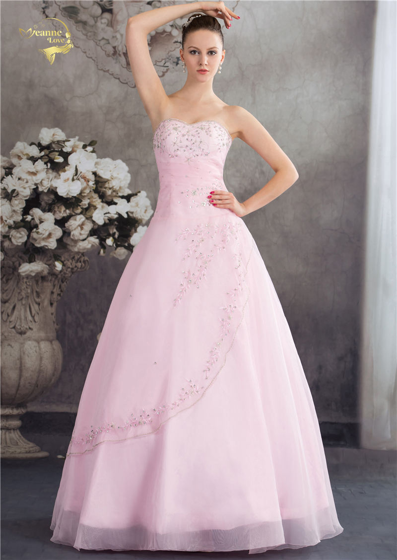 Vestido De Debutante Klasični stil Dušo Plava Ružičasta Crta - Haljina za posebne prigode - Foto 1