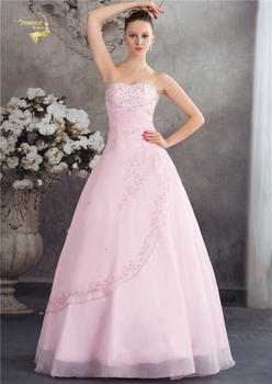 Vestido de debutante classical style sweetheart blue pink a line embroidery ball gown sleeveless quinceanera dresses.jpg 350x350
