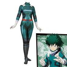 Anime 3D Women My Hero Academia Boku No Hero Academia Midoriya Izuku Cosplay Kostym Zentai Bodysuit Suit Jumpsuits