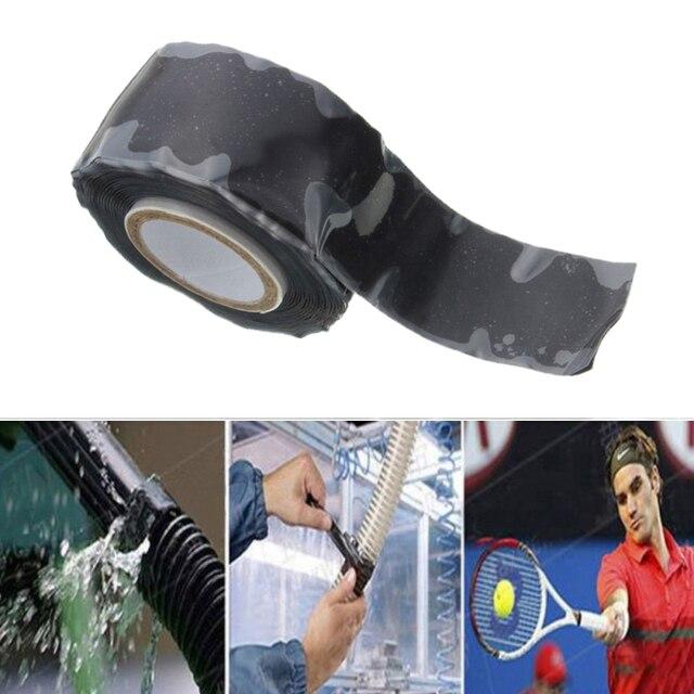 150x2,5 cm súper fuerte fibra resistente al agua cinta de detención fugas sello reparación cinta de rendimiento auto Fix cinta adhesiva Fiberfix cinta