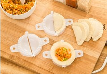 5pcs/lot Dumpling Maker Device New Kitchen Tools Jiaozi Easy DIY Mold KX 322