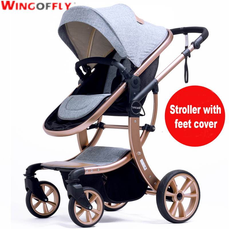 Aimile baby stroller 3 in 1 stroller for children car poussette buggy umbrella stroller 7 colors luxury foofoo shock absorbers baby stroller two way brands 2 in 1 stroller for children car poussette buggy high view prams