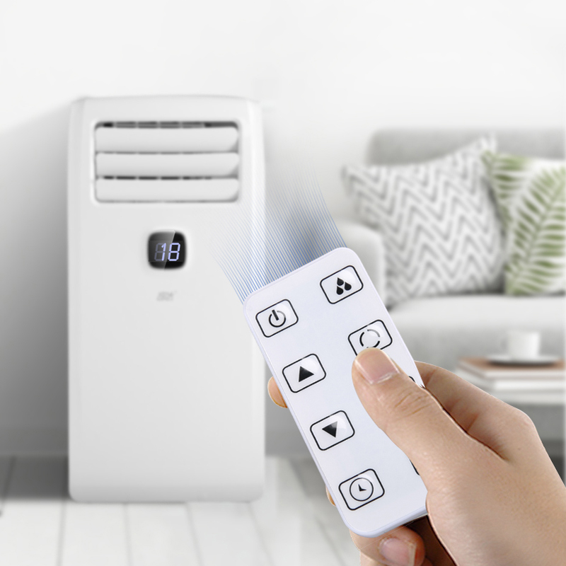 Removable Air Conditioner Single Cold Small 1.5HP Home Living Room Kitchen Bedroom Vertical Cabinet Free Installation AC-27