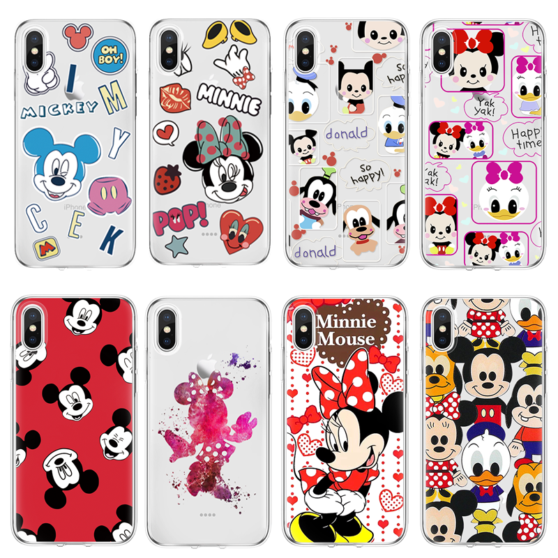 buy popular e2f06 5122b For Disneyland case For iPhone 4 4S 5S SE 5C 6 S 6S 7 8 Plus X Coque For  Xiaomi Redmi S2 4A 3S Mi A1 5X Note 3 4 4X 5A 5 Pro TPU