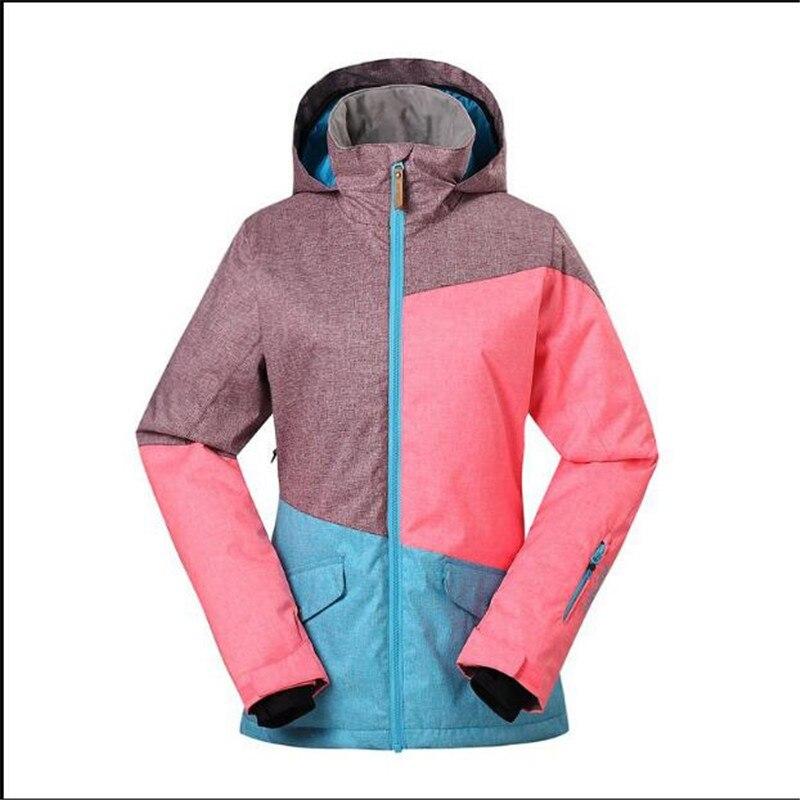 e2428e16dd Waterproof Breathable 10000 Skiing Snowboarding Ladies Jacket Super Warm Coats  Gsou Snow New Ski Jacket Women Snowboard Jackets