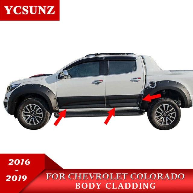 Body Cladding Kits For Chevrolet Colorado 2016 2019 Exterior