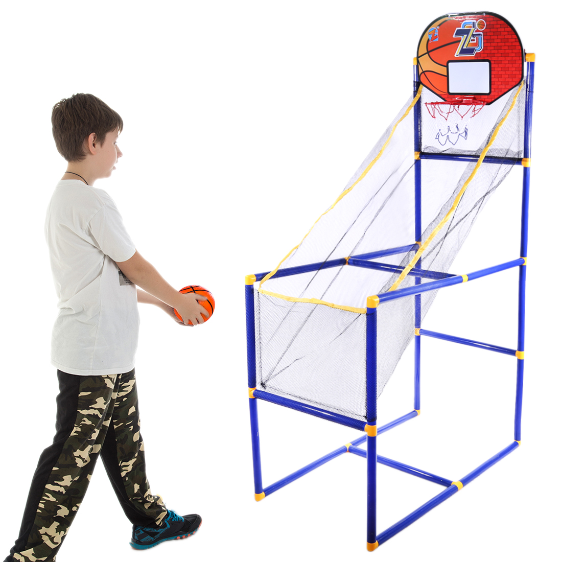 Rowsfire 149cm Children Sports Equipment Indoor Outdoor Basketball Shooting Toy for Kids Traning Exercise ZG270 7