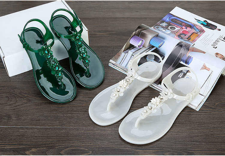 LALA-IKAI-flip-flops-sandals-women-flat-sandal-summer-Beach-Slippers-with-flower-Solid-Casual-Jelly (3)