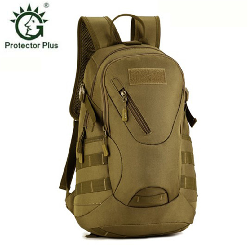 20 litre small backpack multi-function military leisure travel backpacks waterproof school schoolbag  male free holograms