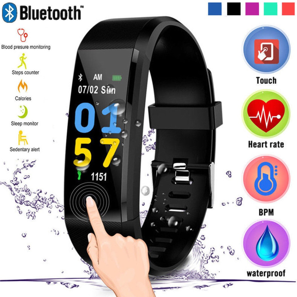 2019 new smart watch men women High breathable strap sport watch led watch waterproof top smart