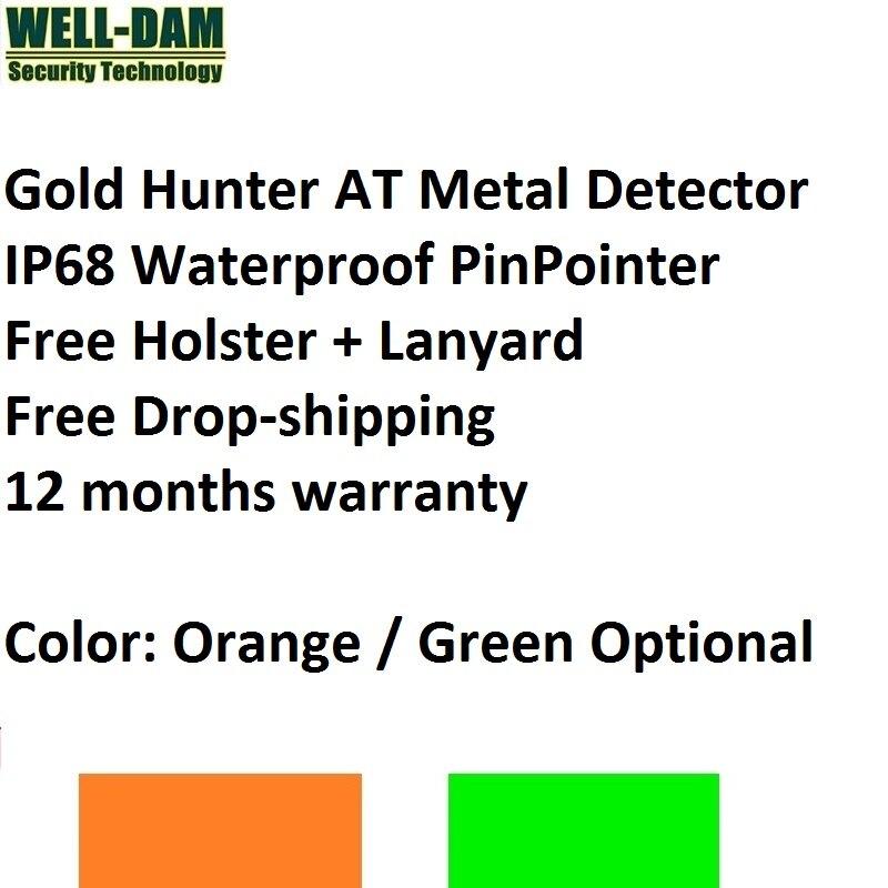 6 pçs/lote Caçador de Ouro NA mão detector de metais realizada detector de metais pinpointer detector de ouro subterrânea subaquática à prova d' água