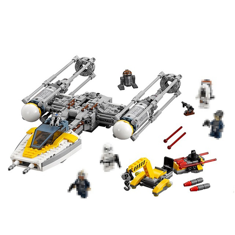 Lepin 05065 691Pcs Genuine Star War Series The Y wing Starfighter Set Model Building Blocks Bricks Educational Toys Gifts 75172 731pcs star space war series the y wing starfighter set building blocks bricks educational toys gift compatible lepins figures
