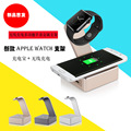 Multi-functional Aluminum Desktop Docking Station Wireless Qi Charging Charger Stand for Apple Watch+ Power Bank 6000mAh