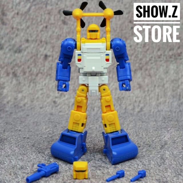 [Show.Z Store] FansToys FT-27 Fans Toys FT27 Spindrift MasterPiece Seaspray Transformation Action Figure [show z store] [pre order] fanstoys ft 25 outrider fans toys transformation figure toy