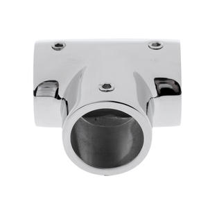 Image 2 - Heavy Duty 316 SS Boat Hand Rail Fitting  90 Degree T/Tee for 1 inch Tube Polished Marine Hardware Boat Parts & Accessories