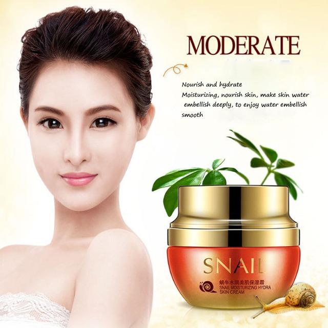 2017 Snail Essence Face Cream Serum 50g Whitening Anti-wrinkle Anti Aging Hydrating Moisturizing Facial Creams Korean Cosmetics