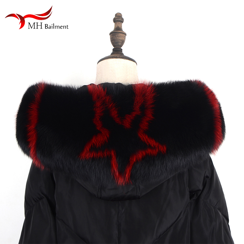Apparel Accessories 2019 New Winter 100% Fox Fur Grass Gloves Unisex Style Hanging Neck Fashion Warm Solid Color Gloves 26
