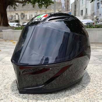 dql Motorcycle helmet man riding car four seasons cool motorcycle with tail motocross capacete