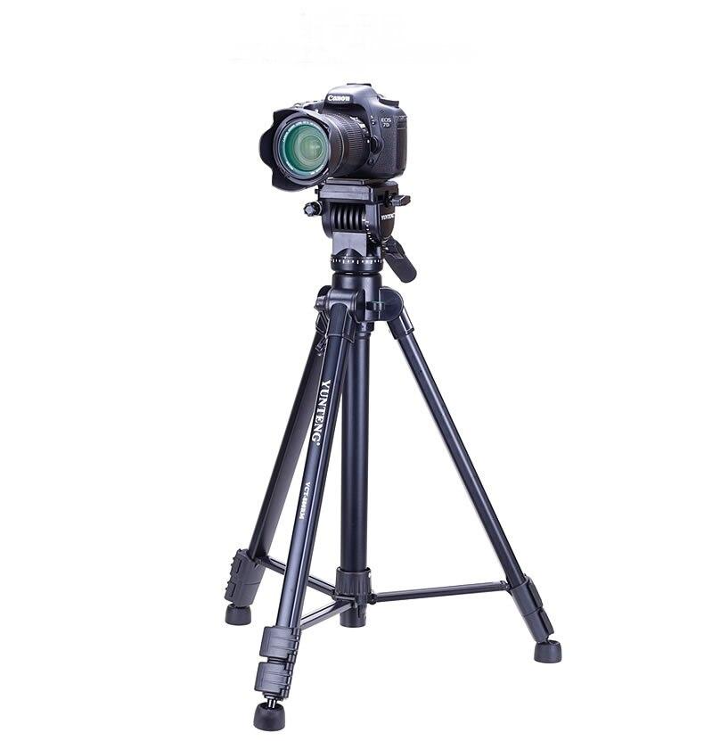 Professionnel 880 trépied Portable 3 voies tête + sac pour appareil photo Nikon Sony Canon photo trépied