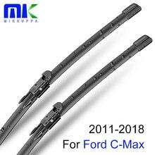 Mikkuppa спереди и сзади стеклоочистителей для Ford C-Max 2011 2012 2013 натуральный каучук автомобильные аксессуары