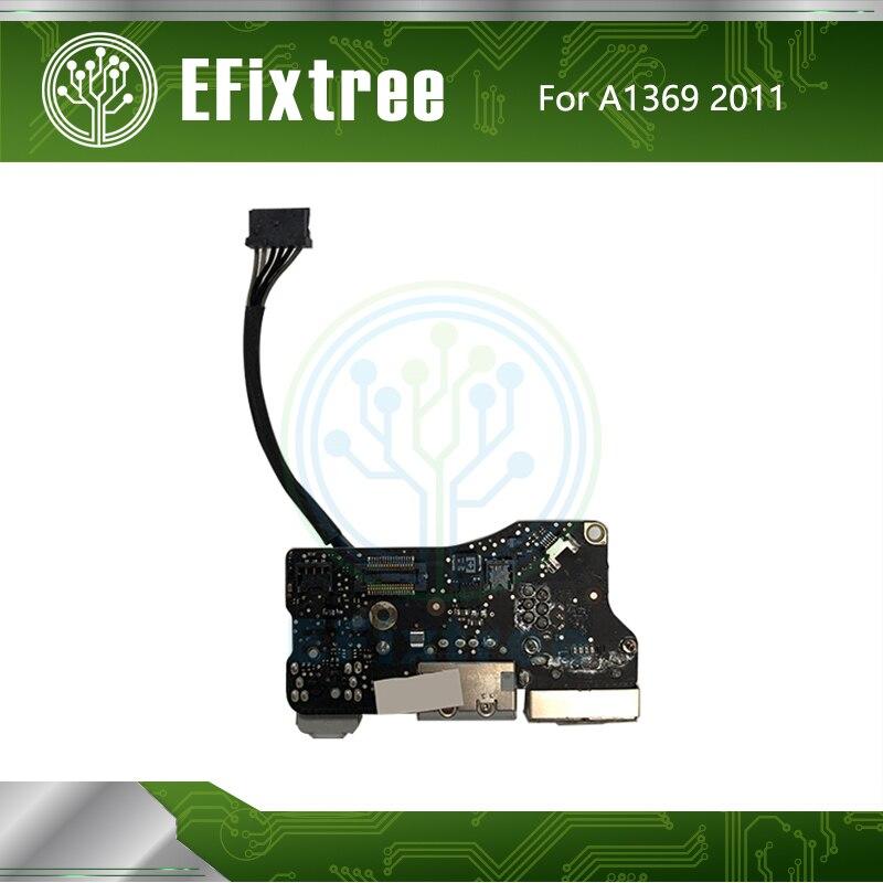 Original 820 3057 A For Macbook Air 13 A1369 DC I O Power Board USB Port