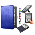 anvanced pu leather case cover for amazon kindle paperwhite 2 3 2016 2015 2014 2012 leather cover sleeve  with stand auto sleep