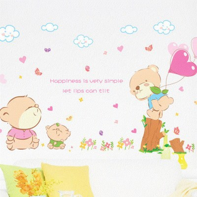 Детские размеры Ростомер рост ребенка измерения высота линейка настенная бумага Милая мультяшная Наклейка на стену - Цвет: O