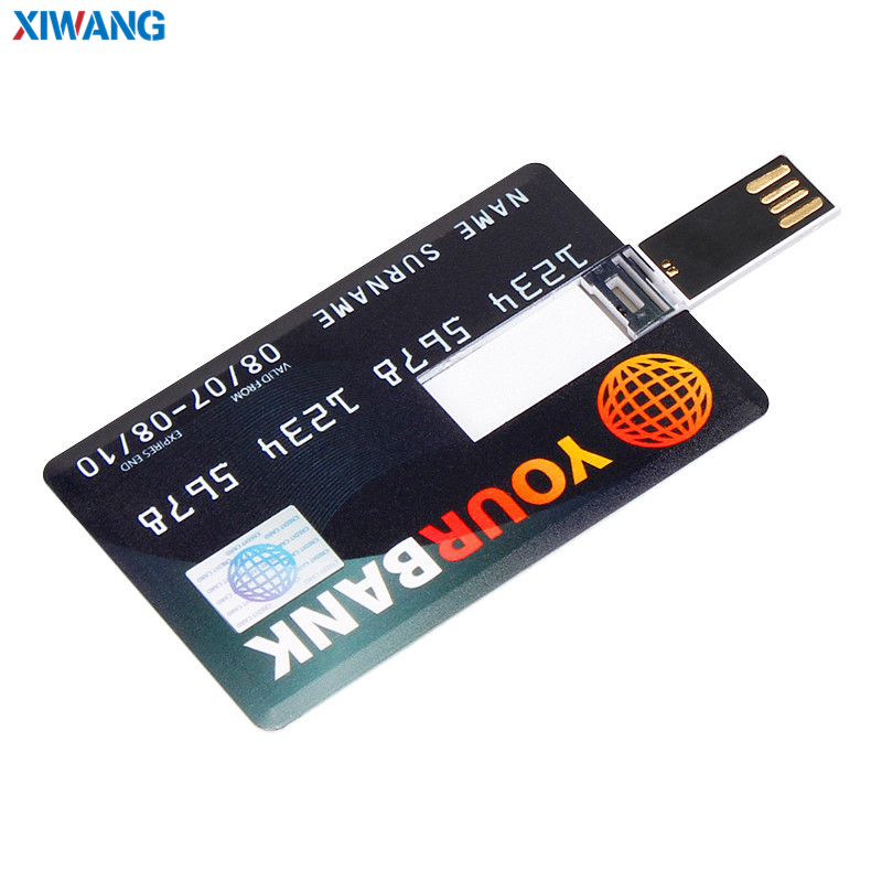 Image 3 - XIWANG hot sale USB Flash Drive credit card 128GB 64GB 32GB 16GB 8GB 4GB USB 2.0 Pen drive Pendriv portable HSBC cards best gift-in USB Flash Drives from Computer & Office