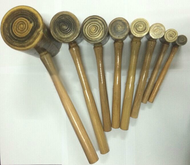 Printing Stamping Carving Punch Hammer Raw Cowhide   Carving Hammer DIY Leather Tool Gold And Silver Processing Watch Processing