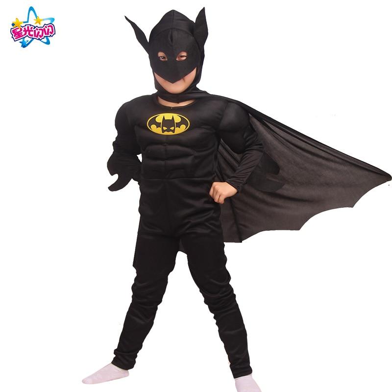 Gratis forsendelse Superhero Muscle Batman Captain America Iron Man - Kostumer - Foto 3