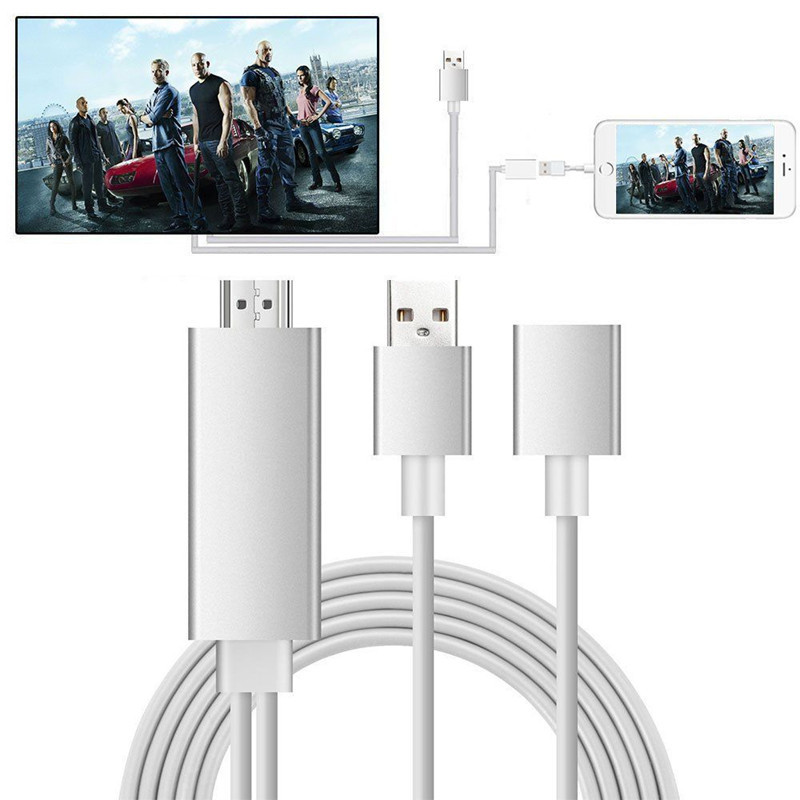 Lightning To HDMI Adapter 1080P Lightning Cable Adaptor For iPhone For Samsung