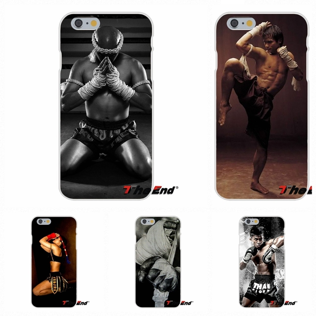 For iPhone X 4 4S 5 5S 5C SE 6 6S 7 8 Plus Galaxy Grand Core Prime Alpha Silicone Phone Case Greatest Thailand Muay Thai Poster