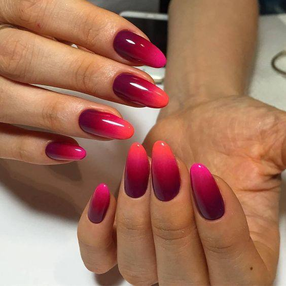 Online Shop 500pcslot Oval Fake Nails With Designs Full Cover Round