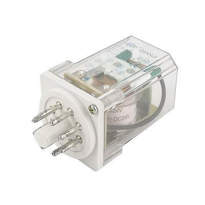 Подробнее о JTX-2C DC 24V Coil 7.5A 220V AC / 10A 24VDC Electromagnetic Relay 8 Pins free shipping dc 12v coil electromagnetic relay 8 pins dpdt 2 no 2 nc jtx 2c
