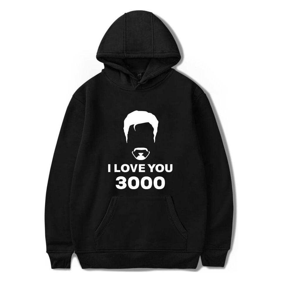 I Love You 3000 Times Hoodies Men/women Fashion Cotton Harajuku With Hip Hop I Love You 3000 Times Men's Hoodies And Sweatshirt