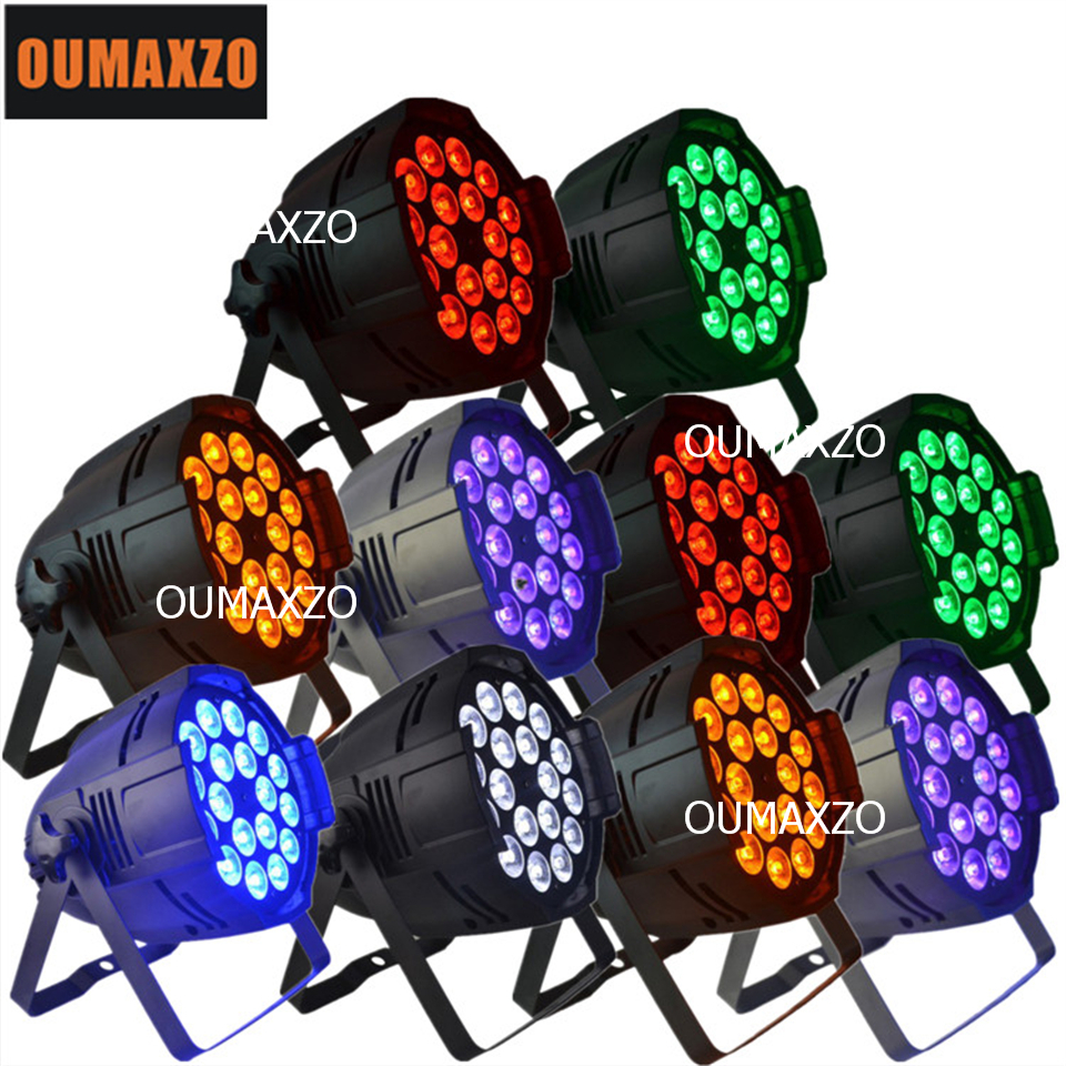 10pcs/lot 18pcs 18W RGBWA+UV 6IN1 high power led par light with DMX for stage lighting DJ Party Stage Black Light Par Can LED UV10pcs/lot 18pcs 18W RGBWA+UV 6IN1 high power led par light with DMX for stage lighting DJ Party Stage Black Light Par Can LED UV