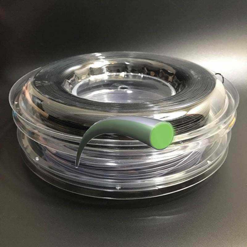 Free shipping ALU Power Tennis String reel(Polyester String 200m/reel hard string)