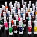 60 Colores de Pintura de Uñas Barniz de la Pluma Polaco Conjunto de Herramientas y 2 Maneras Nail Art Pincel Bricolaje