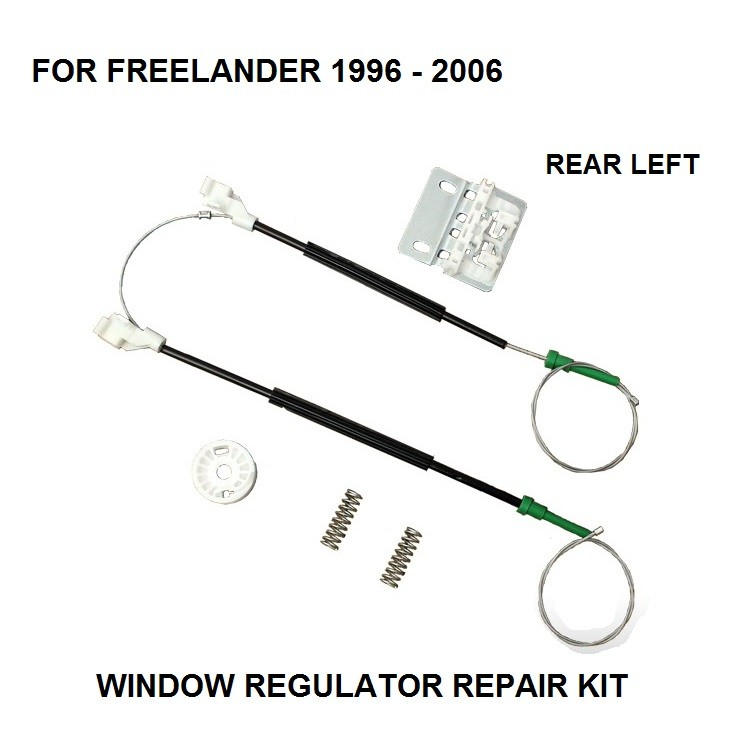 FOR LAND ROVER FREELANDER ELECTRIC WINDOW REGULATOR REPAIR KIT REAR LEFT 1996-2006