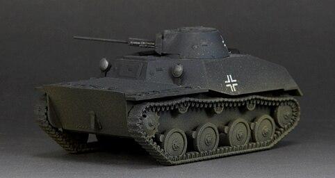 1:72 sext German T-40S Light Tank Model Germans seized Favorites Model Scale Models