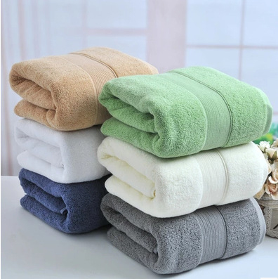 Captivating 650g Solid Heavy 100% Organic Cotton Bath Towel 70x140cm For Adults,Pool  SPA Sauna