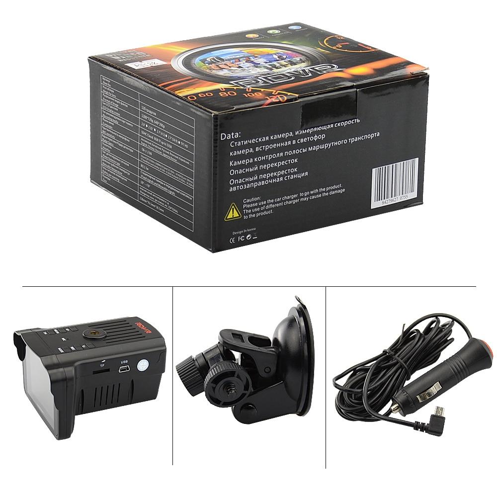 OkeyTech Beste 2 in 1 Camera 720 P Laser Radar Signaal Detectie Nachtzicht Dash Cam DVRs Auto Detector - 6