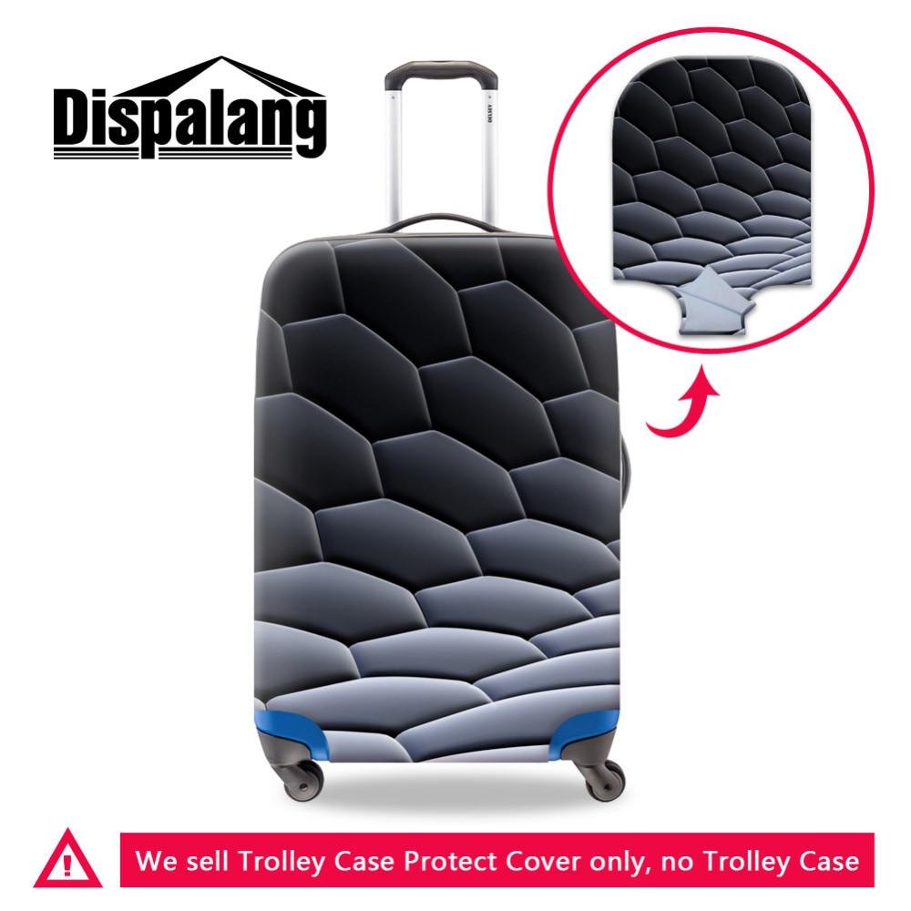 1fe5c847bb3c Dispalang защита багажа Геометрия узор чемоданы Чехлы для 18-30 дюймов  Чехлы для багажа Размеры