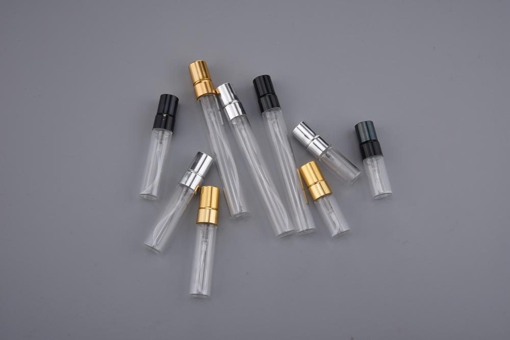 Image 4 - DHL FREE 500PCS/LOT 3ML 5ML 10ML Glass Refillable Perfume Bottle With Aluminum Atomizer Empty Parfum Case For Traveler-in Refillable Bottles from Beauty & Health
