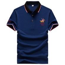 Summer High Quality Brand Men Polo Shirt Business Casual Cotton Solid ralphmen shirt polo 1733